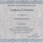 Окончился семинар «Соматическое обучение по методу Томаса Ханны»